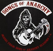 """Songs From """" Sons of Anarchy """" Seasons 1 - 4 CD NEW & SEALED (UK) Tv Soundtrack"""