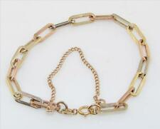 14K Yellow and Rose Gold Link Bracelet