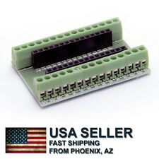 Arduino NANO 3.0 mini expansion board / terminal adapter - ship from Phoenix, AZ