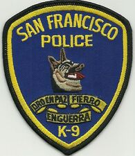 California san Francisco police k-9 sfpd GHF patch police insigne chiens guide