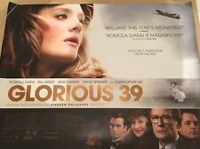 Glorious 39 Original Uk Quad Poster
