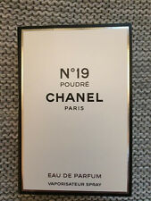 CHANEL No 19 Poudre Eau De PARFUM Perfume Sample Mini Tester Spray 2 ml