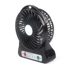 Noir Pocket USB Portable Mini Handheld Fan Voyage Blower Air Cooler 3 Gears EH