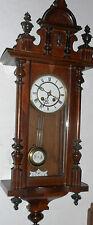 ANTIQUE AUSTRIAN /GERMAN VIENNA REGULATOR R & A CHIME CLOCK REGULATOR WORKING
