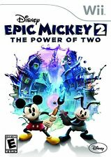 NINTENDO WII GAME DISNEY EPIC MICKEY 2 THE POWER OF TWO BRAND NEW & SEALED