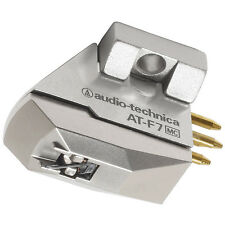 Audio-technica at-f7 Moving Coil (MC) pick-up Cartridge high end! NUOVO + OVP!