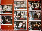 Set of 8 Shaolin Martial Arts { Kuan-Chun Chi} Kung Fu Hong Kong Lobby Card 70s