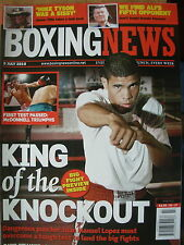 BOXING NEWS 9 JULY 2010 JUAN MANUEL LOPEZ v BERNABE CONCEPCION