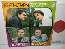 6500 647 Beethoven String Quartets Nos. 5 & 6 Quartetto Italiano