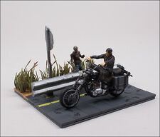Daryl Dixon & Chopper The Walking Dead Horror Building Set MBS 14525 McFarlane