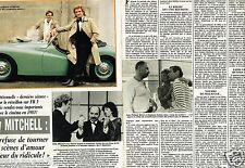 Coupure de Presse Clipping 1982 (2 pages) Eddy Mitchell