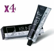 4 x Keune Tinta Color Permanent Hair Color (SELECT YOUR SHADES) 60ml each Tube