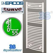 3S SCALDASALVIETTE ERCOS TERMOSIFONE CURVO BIANCO 120x55 cm - STONDATO DA BAGNO