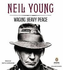 Neil Young WAGING HEAVY PEACE Unabridged 11 CD 12.5 Hrs *NEW* FAST SHIP