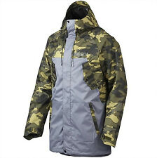 NEW OAKLEY REGIMENT SHELL MENS GUYS SKI/SNOWBOARD SNOW JACKET COAT WATERPROOF L