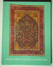BOOK Bausbach 1976 Oriental Carpet auction catalog Kazak rug embroidery Ersari