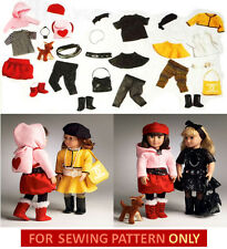 SEWING PATTERN! MAKE DOLL CLOTHES~DOG! FITS AMERICAN GIRL LANIE~MCKENNA~SAIGE!