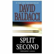 Split Second King & Maxwell Series - Baldacci, David - Mass Market Paperback