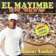 NEW - Mayimbe En Vivo 2 by Santos, Antony
