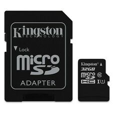 KINGSTON MICRO SDHC C10 32GB 32G 32 G CLASS 10 UHS-I U1 MICRO SD HC MEMORY CARD