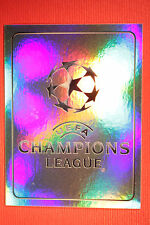 PANINI CHAMPIONS LEAGUE 2011/12 N 1 CHAMPIONS LEAGUE BADGE WITH BACK BACK MINT!!