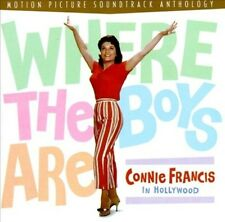 Where the Boys Are: Connie Francis in Hollywood [081227277420] New CD
