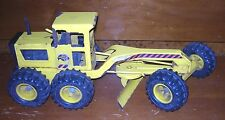 Vintage Original Pressed Steel Tough Tonka Road Grader Scraper 16180 - *READ*