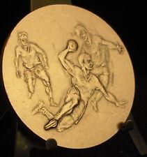 Médaille Hand-ball Sport par Mauviel bronze 50 mm 64 g Medal 铜牌