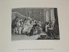 LE ROMAN COMIQUE DE SCARRON peint par J.B. PATER et J. DUMONT  BELLE IMPRESSION