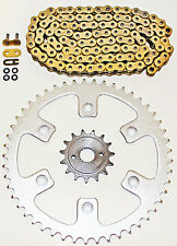 1996-2004 HONDA XR400R 400 R GOLD O RING CHAIN AND SPROCKET 14/45 108L