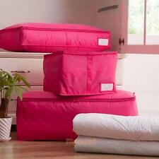 Blankets Clothes Sheets Pillow Quilt Duvet Bedding Organizer Storage Bag Box M