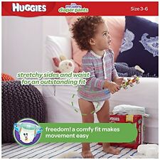 Huggies Little Movers Slip-On Diapers Big Pack  Size 4  56 Count