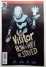 ECCC 2017 The Visitor How & Why He Stayed #1 SIGNED CHRIS ROBERSON  MIKE MIGNOLA