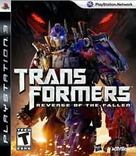 PS3 TRANSFORMERS REVENGE OF THE FALLEN EXCELLENT CONDITION