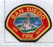 California - San Diego CA Fire Department Patch Life Safety  Lighthouse