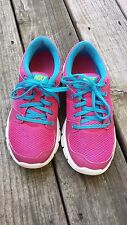 Nike Flex Experience RN 525754 600 Womens Running Shoes Pink/Blue/White size 7.5