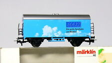 Märklin 31661 H0 2 essieux Spéciales camions frigorifiques MAXI , bleu, TOP