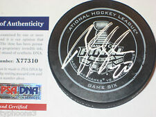 BRANDON SAAD Signed Blackhawks 2013 STANLEY CUP Official GAME 6 Puck w/ PSA COA
