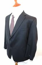 NEW WT HICKEY BY HICKEY FREEMAN BLAZER SIZE 66 PL 100 % WORSTED WOOL BLUE PIN