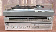 SONY Kombi TA-AX3. ST-JX 3L und PS-LX1, 80er Vintage ,silber