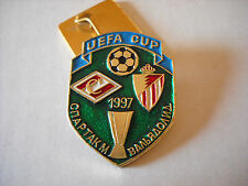 a1 SPARTAK MOSCOW - VALLADOLID cup uefa europa league 1998 football pins