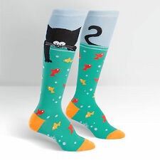 Sock It To Me Women's Knee High Socks - Gone Fishing