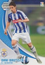 N°259 DANIEL BAUTISTA PINA # RC.RECREATIVO CARD PANINI MEGA CRACKS LIGA 2008