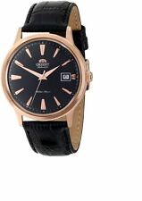 Orient Bambino Automatic FER24001B0 Black Dial Black Leather Band Men's Watch