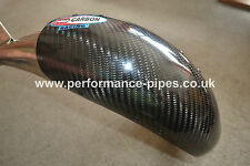 PRO CARBON Fibre Exhaust Guard STD OEM STOCK PIPE KTM EXC XC 125 144 150 2004-16