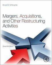 Mergers, Acquisitions, and Other Restructuring Activities by Donald...