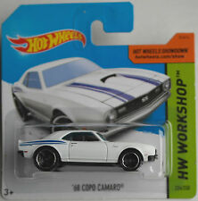 Hot Wheels - ´68 / 1968 COPO Camaro / Chevy weiß Neu/OVP