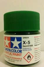 Tamiya acrylic paint. X-5 Green 23ml.