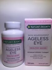 Nature's Bounty Optimal Solutions Ageless Eye Advanced Verisol Collagen Caplets