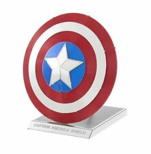 Metal Earth MARVEL CAPTAIN AMERICA'S SHIELD 3D Model Kit Steel NANO Puzzle